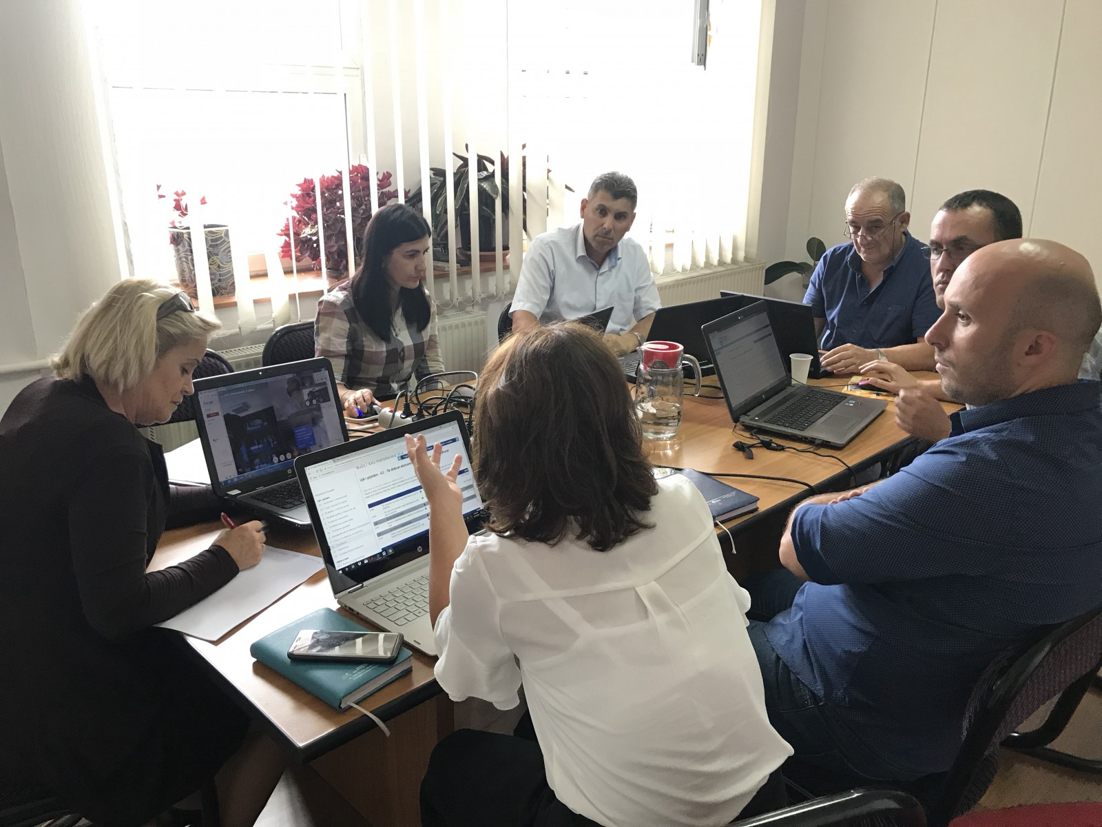 The Kosovo & Albanian Hub held the second virtual meeting for Exception Report Analysis