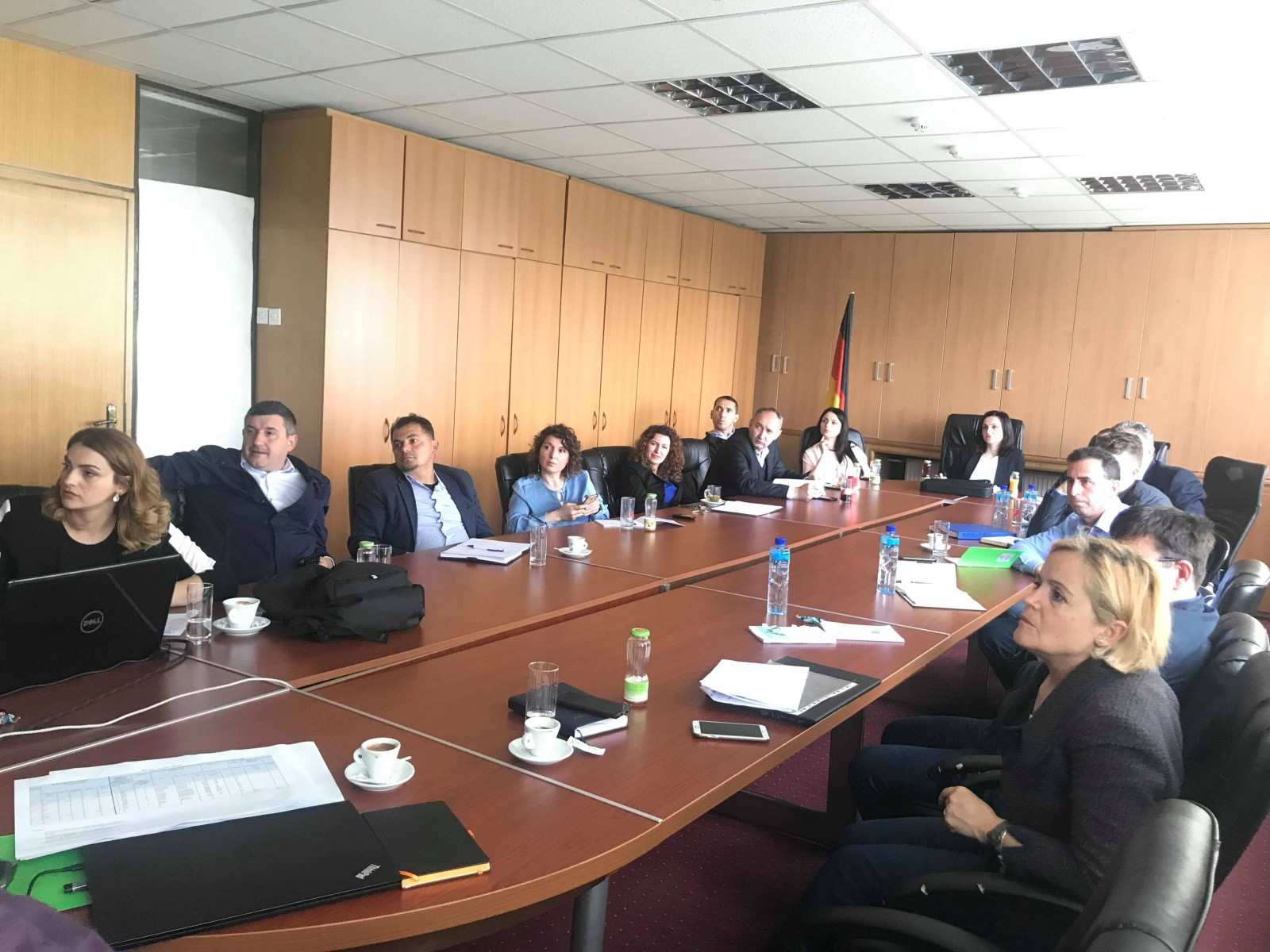 "Visit of Project Manager ""Asset Management - Advisory Services for South East European Countries"" and representatives of Hydro-Comp Company in Pristina"