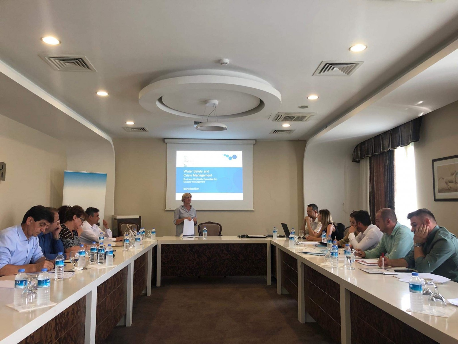 The Water Safety Plan Program Preparatory Workshop was held in Pristina